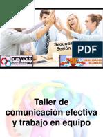 Comunicación Efectiva y Trabajo en Equipo1
