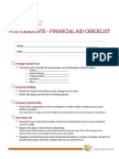 Reachivy Financial Aid Checklist Post Graduate