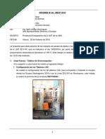 Informe 04-Prueba de Energizacion de La Lmt Febrero 2016