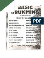 Joel Rothman - Basic Drumming