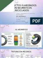 Productos Elaborados Con Neumaticos Reciclados