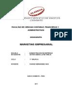 Monografia- Marketing Empresarial