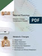 Maternal Physiology2