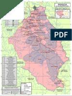Mapa Comunidades Nativas Pangoa