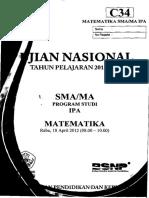 Naskah Soal UN Matematika IPA SMA 2012 Paket C34.pdf