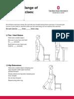 Active Range of Motion Leg Stand
