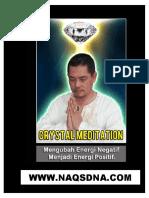 Meditasi Kristal Memperluas Kesadaran