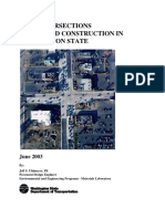 PCCP Intersections Design and Construction in Washington State