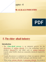 Chapter -4 - The Chlor-Alkali Industry