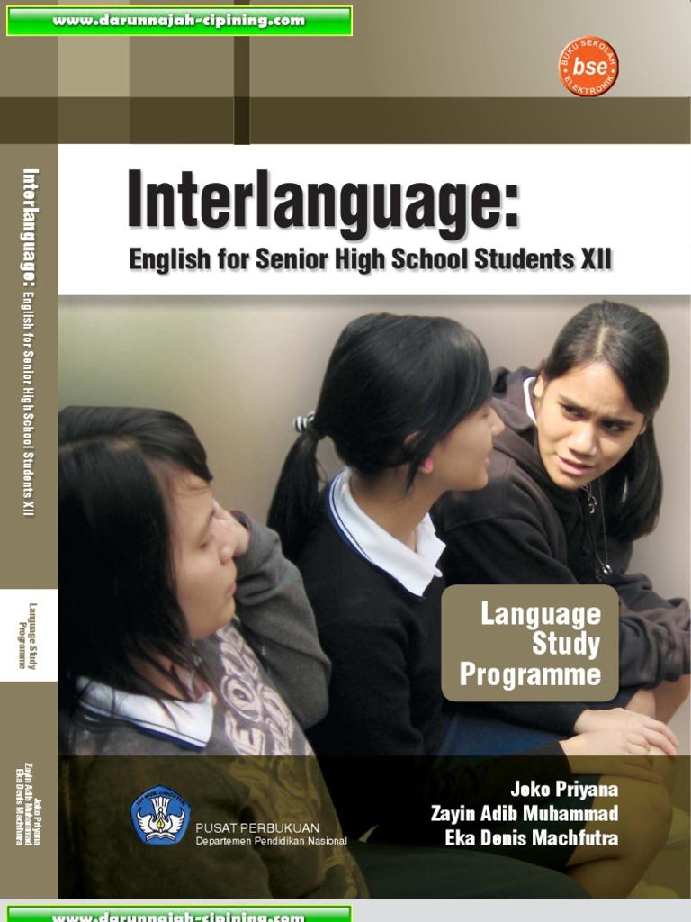 interlanguage english for senior high school students 2 untuk smainterlanguage english for senior high school students 2 untuk sma ma kelas xii