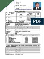 CV Irshad Current
