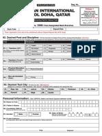 PISDhaQtr Form