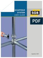 User Guide Cuplok Scaffold System 0905