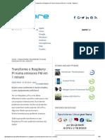 Transforme o Raspberry PI Numa Emissora FM Em 1 Minuto - Pplware