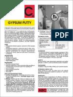 ABC Gypsum Putty