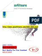 New Pass4itsure 600-509 Dumps PDF - Integrating Business Applications with Network Programmability