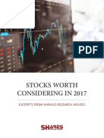Stocks Worth Considering in 2017