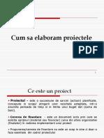 Capitolul 2 Etape in Elaborarea Proiectelor