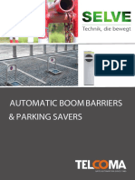 Automatic Boom Barrier and Parking Saver