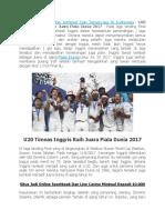 U20 Timnas Inggris Raih Juara Piala Dunia 2017