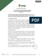 02173358 Edital Proppg 01 2017 Processo Seletivo Ao Curso de Especializacao Em Gestao de Curriculo Na Formacao Docente