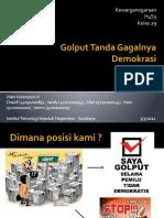 Materi Presentasi_Golput Tanda Gagalnya Demokrasi.pptx