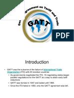 evolution of gatt.ppt