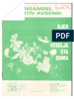 Avsenik - Album Za Harmoniko - Zvezek 38