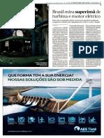 1480-Brasil Mira Superima de Turbina e Motor Eletrico Folha de SPaulo 28 de Abril