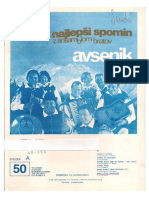 Avsenik - Album Za Harmoniko - Zvezek 50