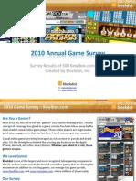 2010 Advergaming Survey Results