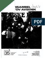 Avsenik Album - Za Haarmoniko - Zvezek 35