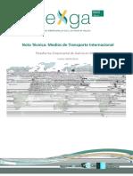 Nota Tecnica Medios de Transporte Internacional