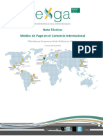Nota Tecnica Medios de Pago en Comercio Internacional