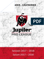Pro League saison 2017-2018