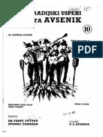 Avsenik Album - Za Harmoniko - Zvezek 10