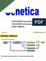Genetica II Transcr-trad-cod Bch II