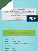 PPT Case Report Konjungtivitis