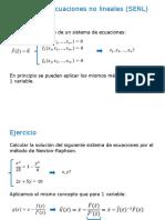 Apunte Clase Practica - SENL y Ajuste