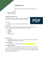 3. Initiere - Carta Proiectului