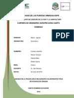 Informe Trucha Manejo de Estados Fisiologícos