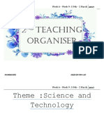 Teaching Organiser