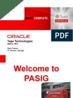 Oracle Tape Media