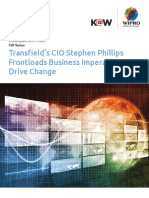 Transfields CIO Stephen Phillips Frontloads Business Imperatives to Drive Change