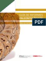 Guía Para La Elaboración de Informes Paleontológicos