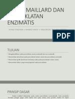 Reaksi Maillard Dan Pencoklatan Enzimatis