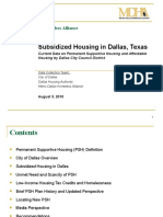 Subsidized Housing Data Report Final Draft