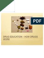 Drug Education – How drugs work