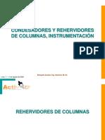 Cond.&Reherv.columnas, Instrumentación