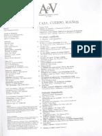 Indices Revistas a&v Monografías